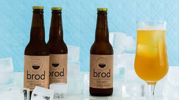The Kvas Company's Brod Original Kvas Brown.