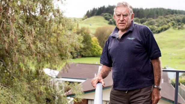 Sir Colin Meads at home in Te Kuiti. He continues to take Te Kiri Gold Water, even though a scan has proved it hasn't ...