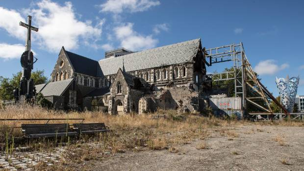 Christ Church Cathedral has been derelict in the city centre for more than six years.