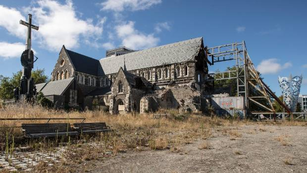 Delays in deciding what to do with Christ Church Cathedral are holding up development around Cathedral Square.