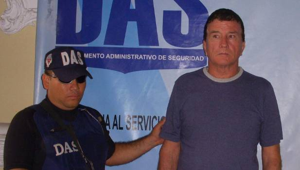 New Zealander Paul Anthony Brailsford, right, is serving a 20-year sentence for sex crimes in Colombia.