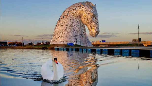 """The world's largest equine sculptures are part of Scotland's """"The Helix"""" regeneration project. Can Christchurch be as ..."""