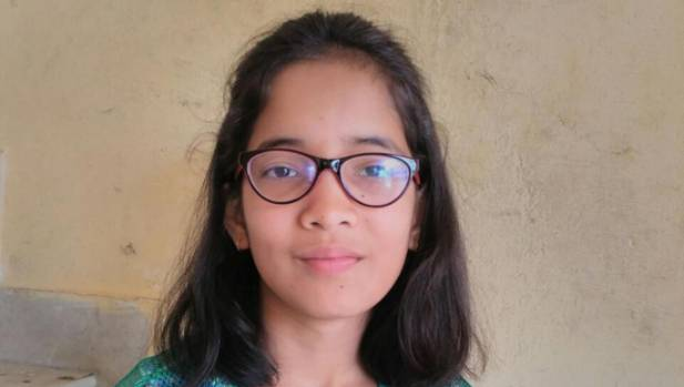 Ridhima Pandey, 9, says the Indian government has failed to implement its environment laws.