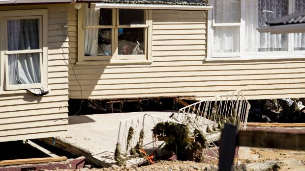 It will be at least seven to ten days before residents can return. Edgecumbe is without power or sewerage.