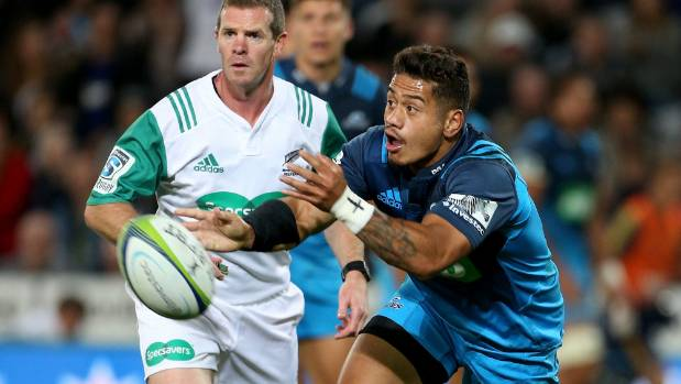 Blues halfback  Augustine Pulu had another strong game on Saturday night.