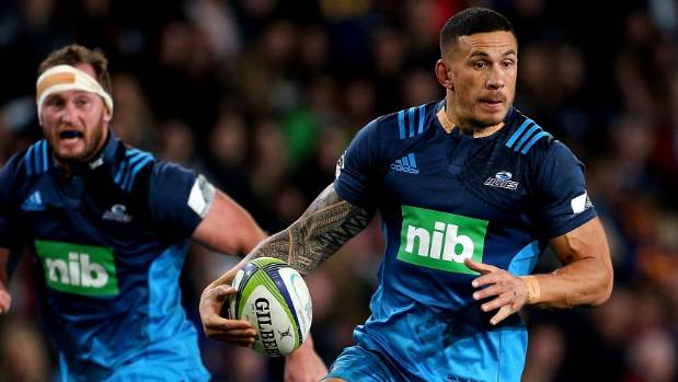 Sonny Bill Williams showed glimpses of his potential for the Blues with elusive running and offloads in his comeback ...