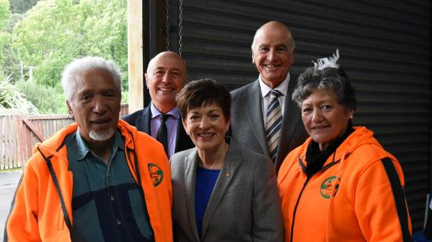 Governor General Dame Patsy Reddy visits key sites around Taumarunui