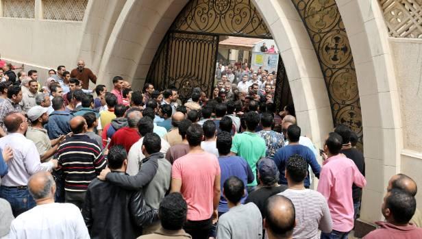 Eyewitnesses to Sunday's blast described a scene of carnage.