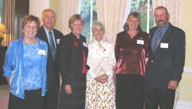 Proud to be part of Rural Women are Carol Wyllie, Roger and Aynsley Langford, Minty Henderson, Joyce and Jock Wyllie at ...