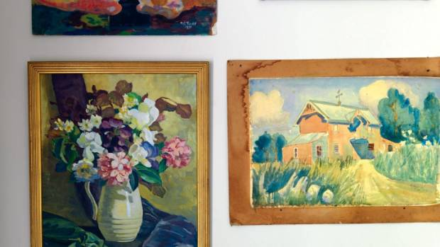 Alexandra inherited a number of artworks by her great-aunt Marion Tylee.