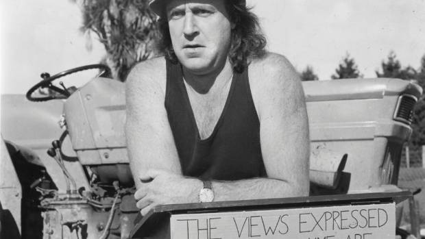 John Clarke as Fred Dagg in 1978.