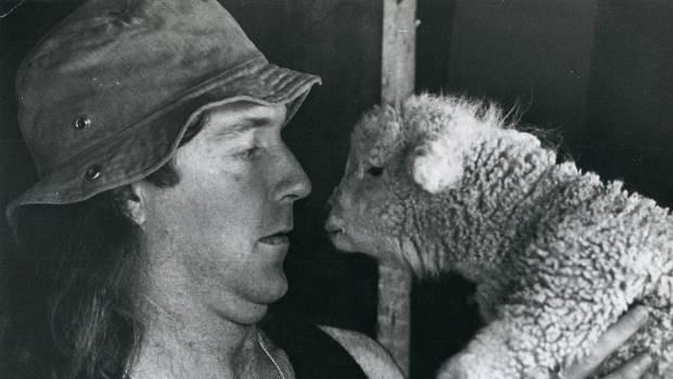 John Clarke as Fred Dagg in 1976.