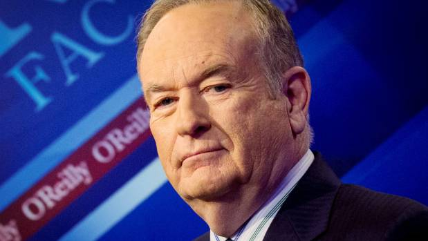 Former Fox host Bill O'Reilly was sacked from the network on Wednesday.
