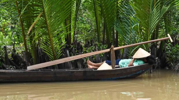 Adrift on the delta.