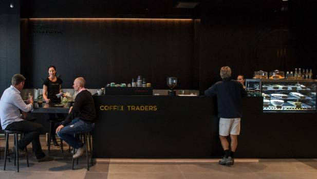 Coffee Traders opened last week in its slick premises at 123 Victoria St.