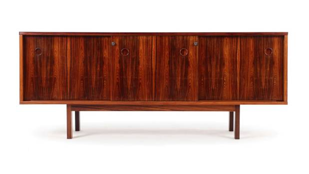 Danish rosewood credenza $3450 from Mr Bigglesworthy, mrbigglesworthy.co.nz.