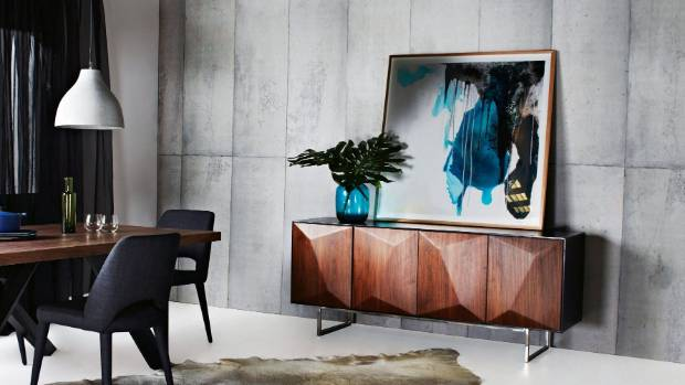 GlobeWest Como Facet buffet $3485 from Soren Liv, sminteriors.co.nz.