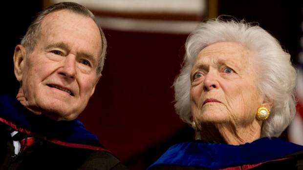 Wait, why does Barbara Bush have only eight toes?