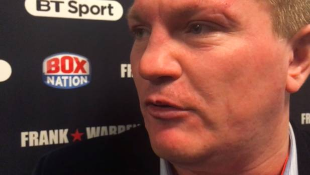 British boxing great Ricky Hatton believes Hughie Fury will test Joseph Parker.