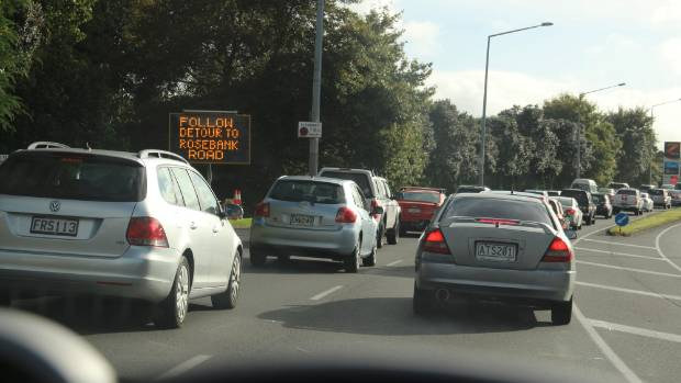Detours are currently in place around New Lynn from Rata St to Rosebank Rd for city-bound traffic and Wolverton through ...