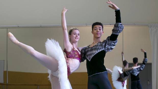 Saul Newport and Tabitha Dombroski, both second-year classical majors at the New Zealand School of Dance, have been ...