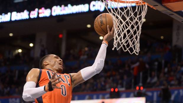 OKC Thunder guard Russell Westbrook holds the NBA record for most triple-doubles in the regular season.