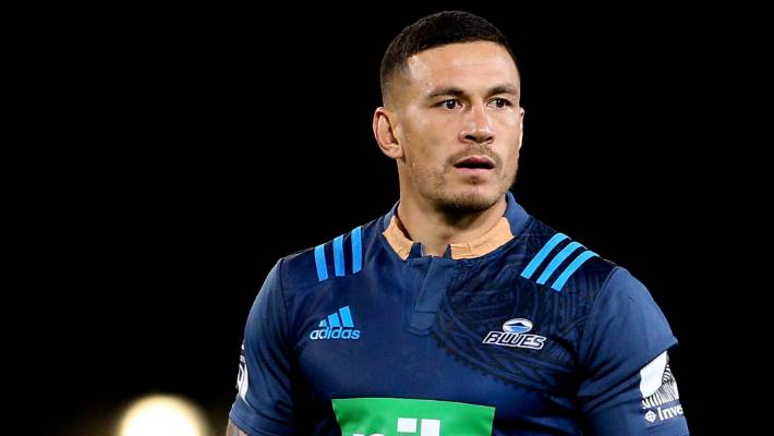 Sonny Bill Williams Taped Collar In His Blues Debut Last Weekend Was Part Of A
