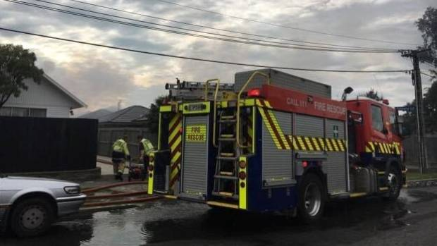 Person seriously injured in fire at garage fire in for Garage a persan