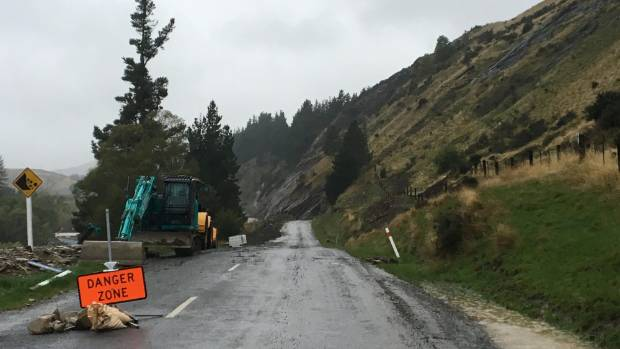 The inland road near Whales Back closed last week after Cyclone Debbie brought heavy rain.