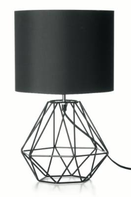 Kmart geometric table lamp, $22.