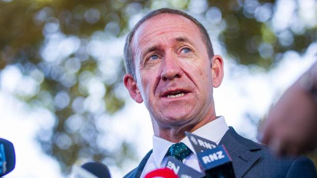 Labour leader Andrew Little said Auckland was facing excessive strain from record immigration levels.