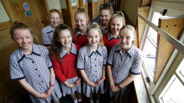 Southland Girls' High School students who got an A* grade for their Cambridge Global Perspectives qualification, from ...