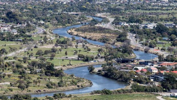 Urban waterways like Christchurch's Avon River are polluted from the effects of urbanisation.