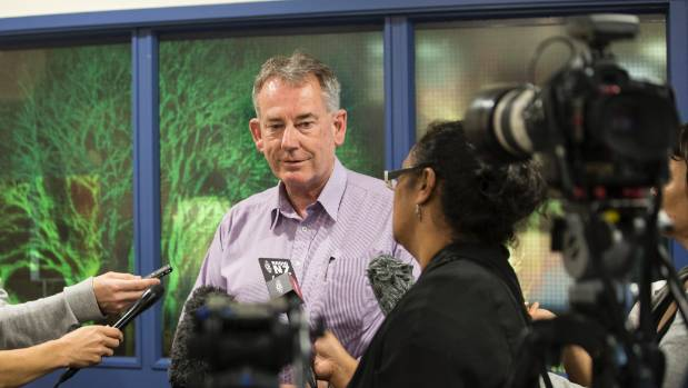 Whakatane District mayor Tony Bonne was quizzed by media at a press conference on Tuesday afternoon.