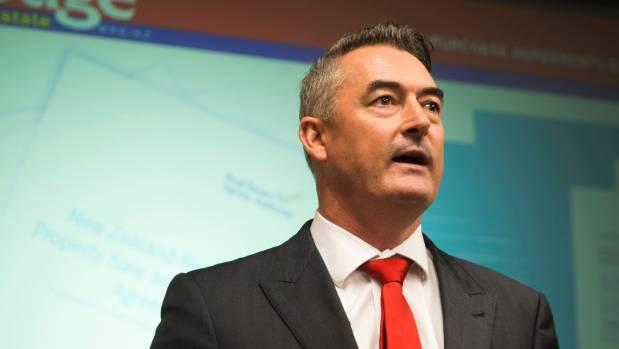 Lodge Real Estate managing director Jeremy O'Rourke.