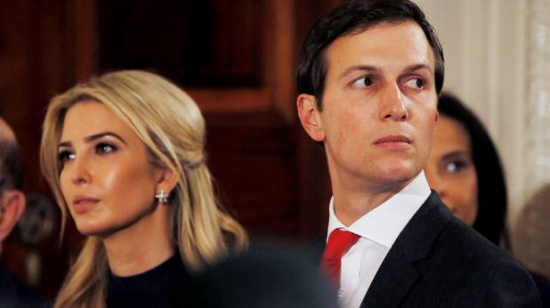 Ivanka Trump and her husband Jared Kushner are both advisers to US President Donald Trump.