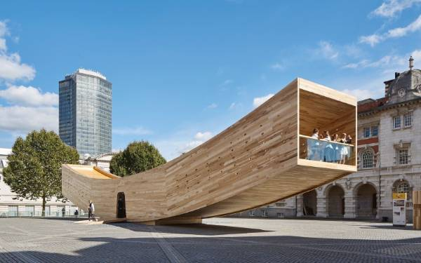The Smile by Alison Brooks Architects,an installation in London, was a Jury Winner in the Architizer A+ Awards 2017. It ...