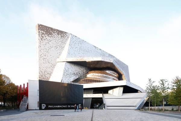 Philharmonie de Paris, Grande Salle designed by Ateliers Jean Nouvel and L'Observatoire International was a Jury Winner, ...