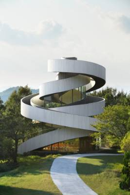 Ribbon Chapel in Seto, Japan, by Hiroshi Nakamura & NAP, was a Jury Winner in the Religious Buildings & Memorials ...