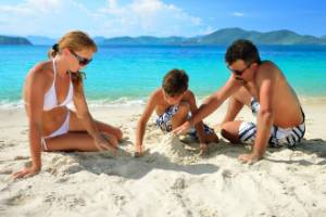 The price of a few days away with your children can be steep if you're looking to get away during school holidays.