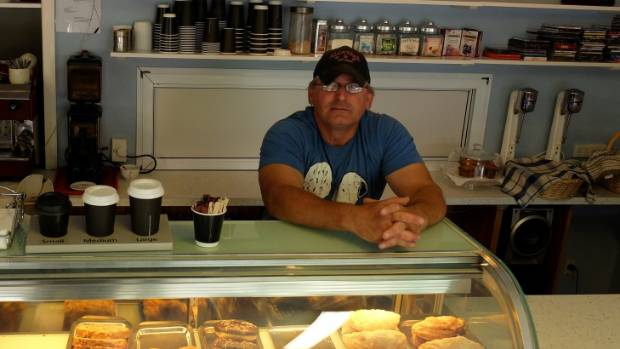 Pot Belly Bakery & Cafe owner Billy Speirs.