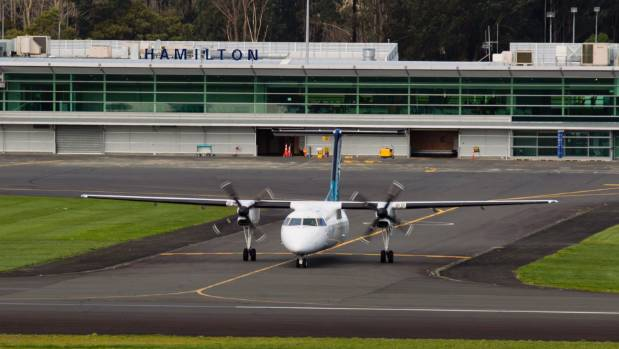 Hamilton Airport had the best passenger figures in March that they've had in the past four years.