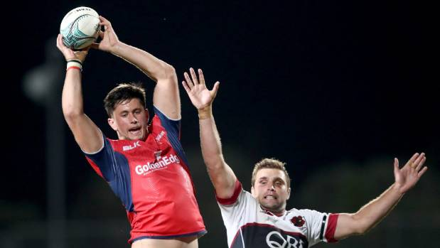 Tasman's Quinten Strange has a date with the Lions in Whangarei in June.