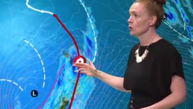 MetService Latest Official Cyclone Cook Warning