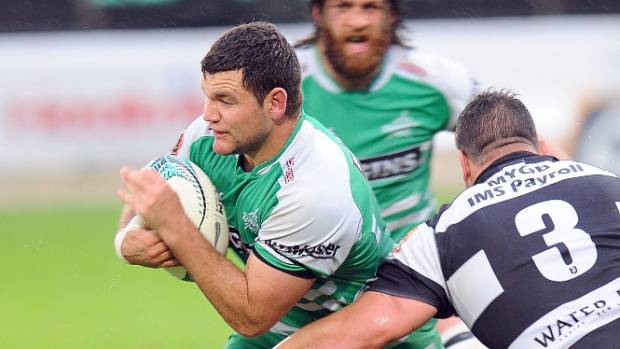 Travis Taylor was named the Manawatu Turbos' rookie of the year in 2016.