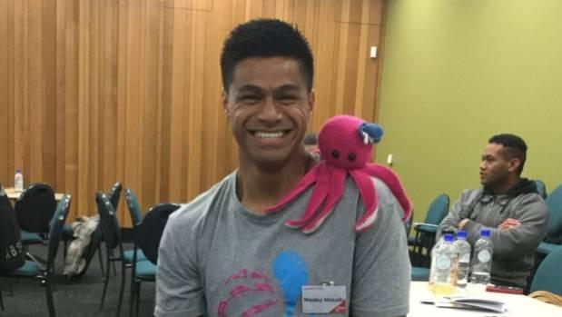 Wesley Mauafu has just won the Youth Champion Award at the 2017 New Zealand Youth Awards.