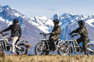 Real Journeys' has launched an  electric trail bike experience on Walter Peak farm.