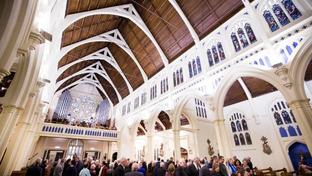 About 200 people attended the reopening of St Mary's.