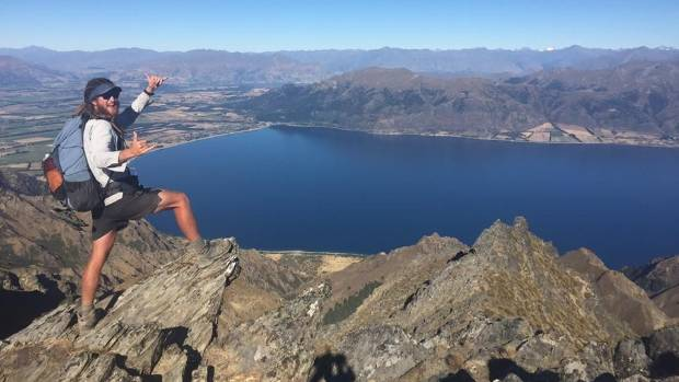 Elevated views of Lake Hawea in Otago were just one of the incredible views Lee experienced along the way.