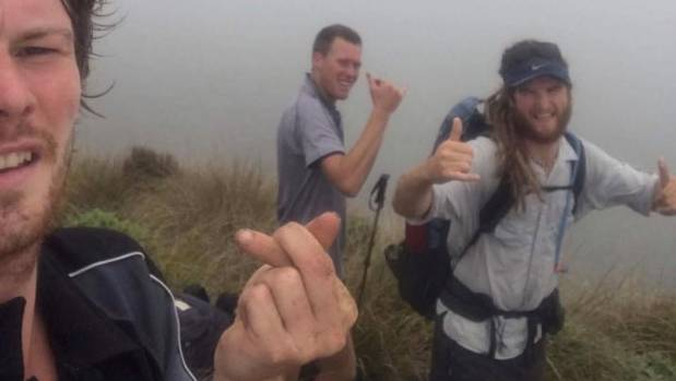 Battling storm conditions in the Tararua Range provided the only scary moments during the trek, Lee says.